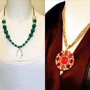 Jewelry - 2 Showstopper Necklaces for a Bargain Price!